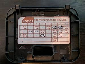 Cabin Fuse Box Map