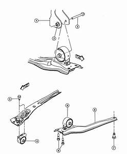 Jeep Compass Support  Engine Mount  Front  Mounting  Fwd