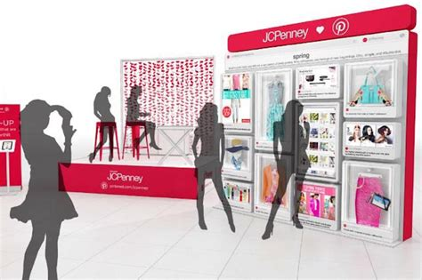 How Jcpenney And Pinterest Are Updating The Shopping Mall