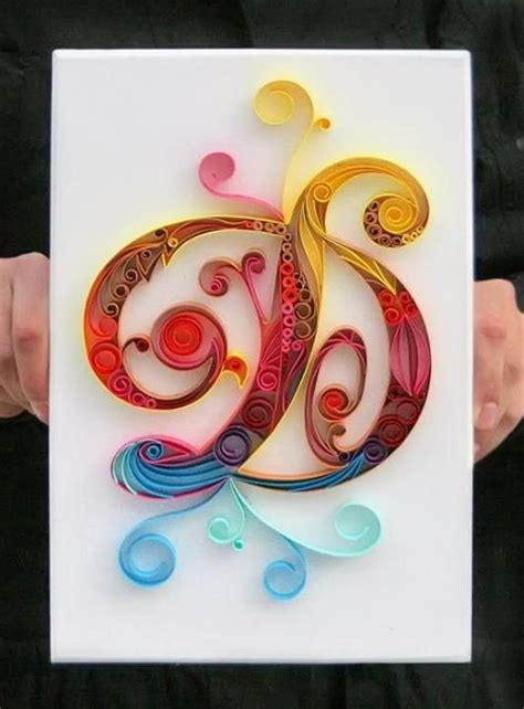 quilled paper   alphabet wall  carolines room quilling letters
