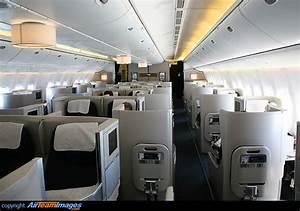 british airways boeing 777 200 interior