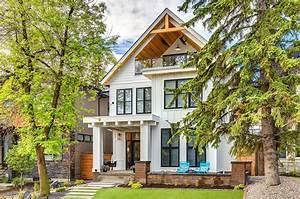 Calgary, Home, Radiates, With, Fresh, Modern, Farmhouse, Style