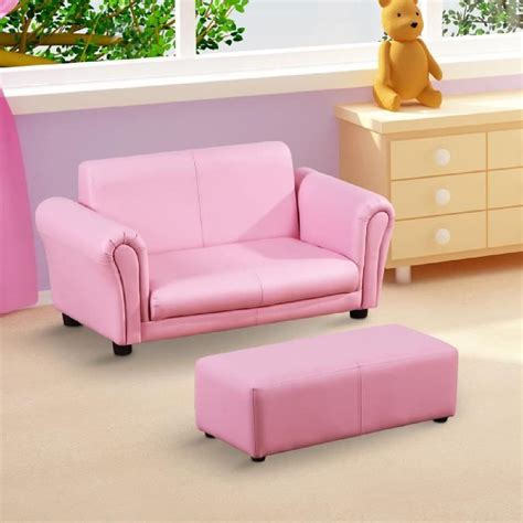 fauteuil canape sofa canapé fauteuil pour enfant 3ans 7ans 2 places avec