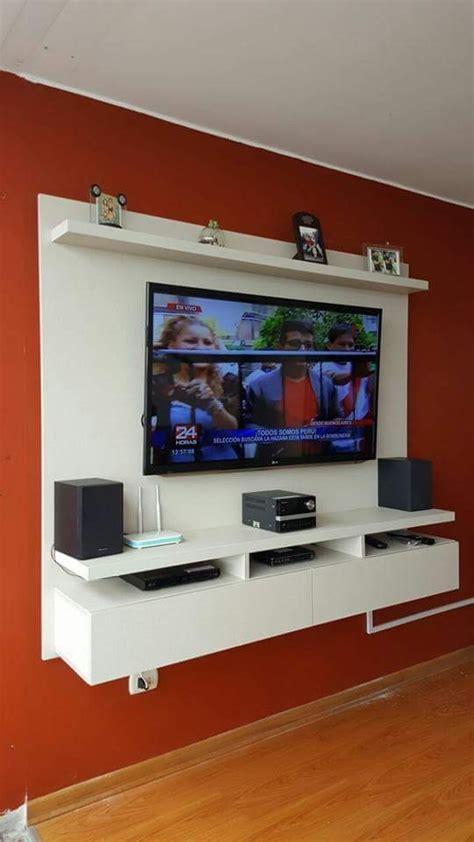 mueble rack  tv centro de entretenimiento en melamina   en mercado libre