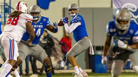 smu loses  game  season  hands  memphis qb