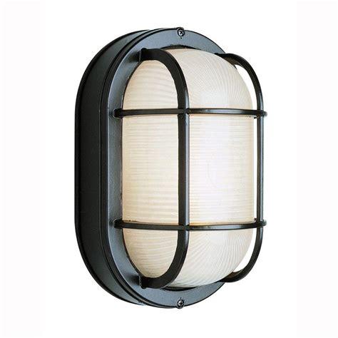 bel air lighting bulkhead 1 light outdoor black wall or