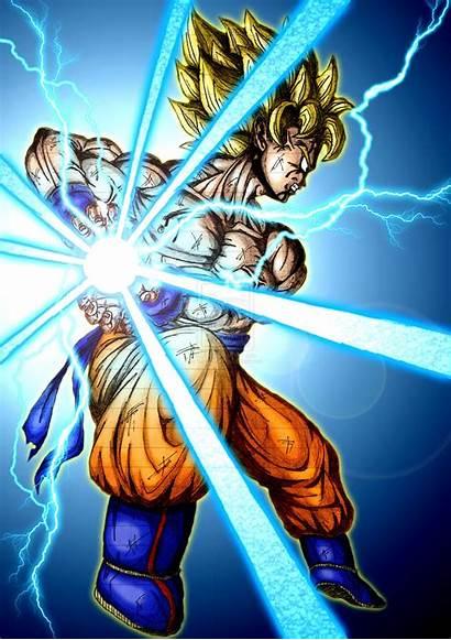 Kamehameha Goku Dragon Ball Pix
