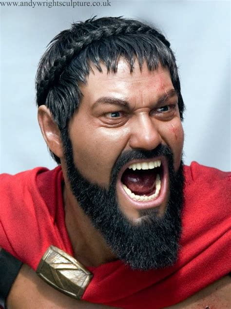 king leonidas beard facial hairstyles