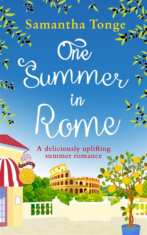 Book News One Summer In Rome Cover Reveal  Star Crossed Reviews