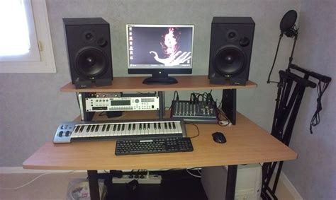 studio rta creation station studio desk cherry studio rta creation station image 780174 audiofanzine