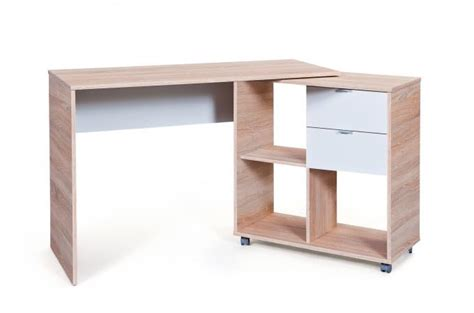 bureau modulable bureau modulable avec 4 espaces de rangement bois hellene