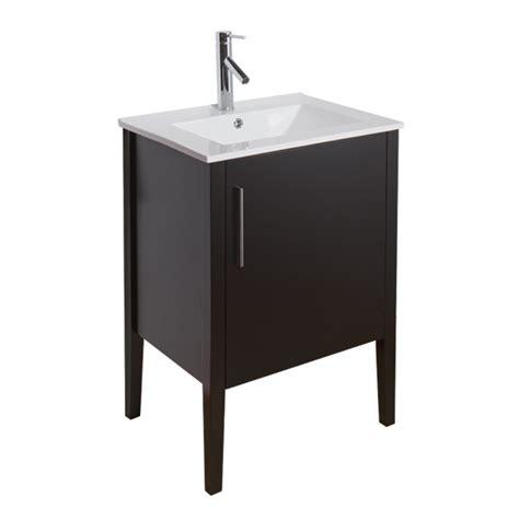 Freestanding 24 Inch Bathroom Vanity Vigo 24 Quot Maxine Single Bathroom Vanity Espresso Free