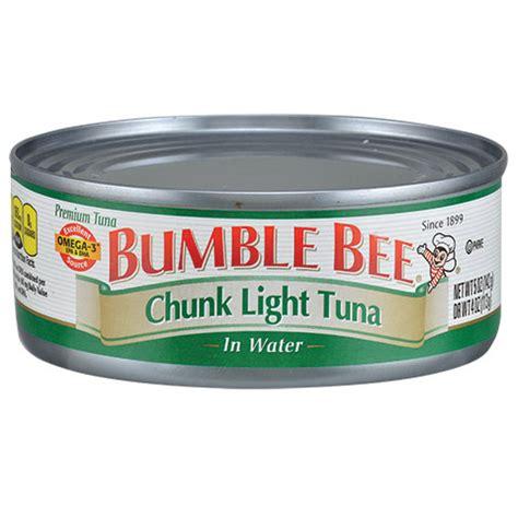 bumble bee chunk light tuna bulk bumble bee chunk light tuna in water 5 oz cans at