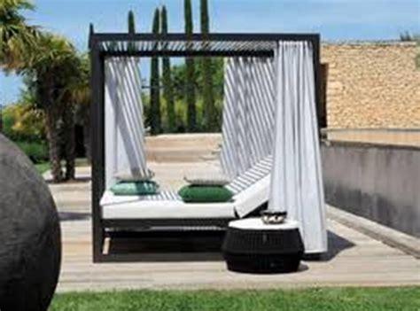 modern outdoor daybed  sun sail laguna luxury gifdub