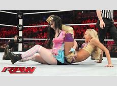 Paige vs Summer Rae Raw, February 16, 2015 YouTube