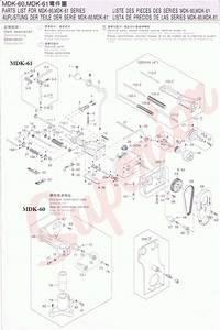 Racing Mdk 60  61 Parts And Instructions
