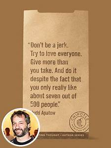 Famous Quotes F... Judd Apatow Movie Quotes