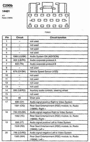 Ford Radio Wiring Diagram 2002 F 250 Wiring Diagram Control B Control B Associazionegenius It