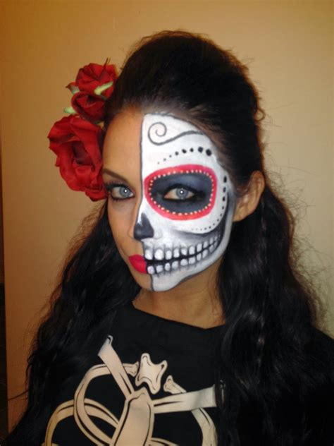 de los muertos makeup halloween makeup sugar skull