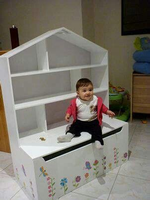 Bookcase Toybox by Dollhouse Bookcase With Toybox Doll House Box In 2019