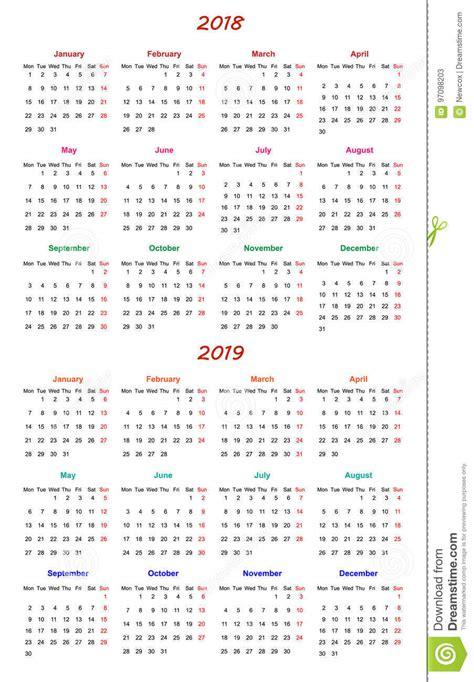 month calendar design   stock vector