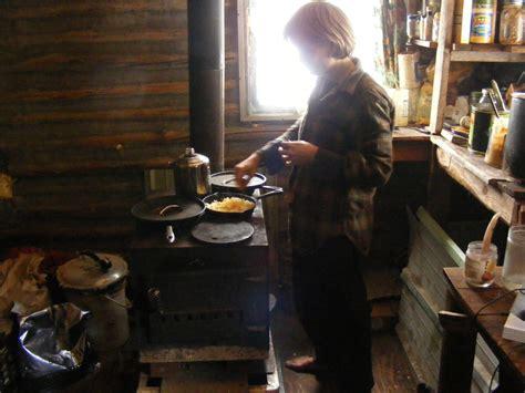 the burning kitchen wood burning stove survival sherpa