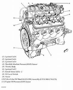 Chevy Avalanche 5 3 Liter Engine Diagram  Engine  Auto Parts Catalog And Diagram
