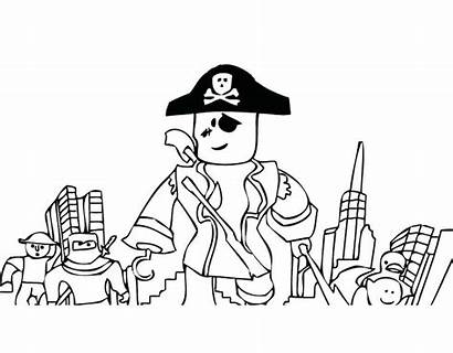 Roblox Coloring Pages Printable Boys Sheets Pirates