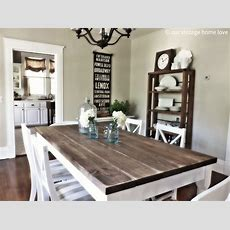 Vintage Home Love Dining Room Table Tutorial
