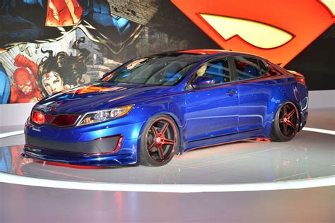 Superman Inspired Kia Optima Hybrid Helps Those Affected