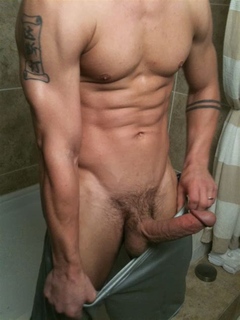 Bare Curious Brent Everetts Huge Cock Is Rock Hard And