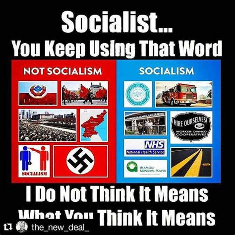 Socialist Memes - what does socialism actually mean the meme policeman