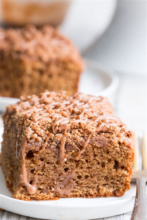 Coffee cakes traditionally do not have actual coffee in the ingredients. Classic Cinnamon Coffee Cake {Paleo, GF, DF}   The Paleo Running Momma