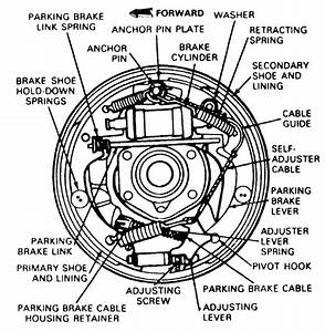 Do You Have A Drawing For A 92 Ford Ranger Drum Brakes