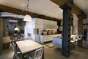 Deco Maison Industriel : deco maison industrielle whitney loft ~ Teatrodelosmanantiales.com Idées de Décoration