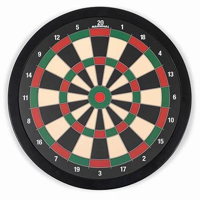 Magnetic Dartboard Narwhal Darts Includes Six 5in