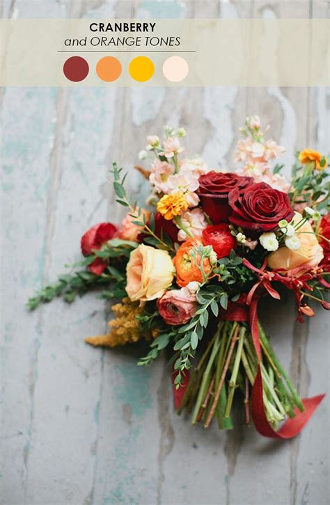 18 Fall Wedding Color Palettes The Ultimate Guide The