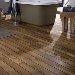 Parquet Pont De Bateau : un parquet pour salle de bain pont de bateau leroy merlin ~ Melissatoandfro.com Idées de Décoration