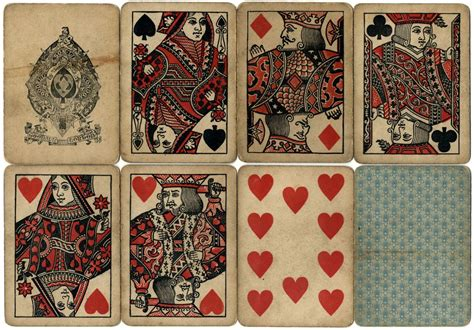 Miniature Playing Card Decks by Chas Goodall And Son Playing Card Manufacturer 1820 1922