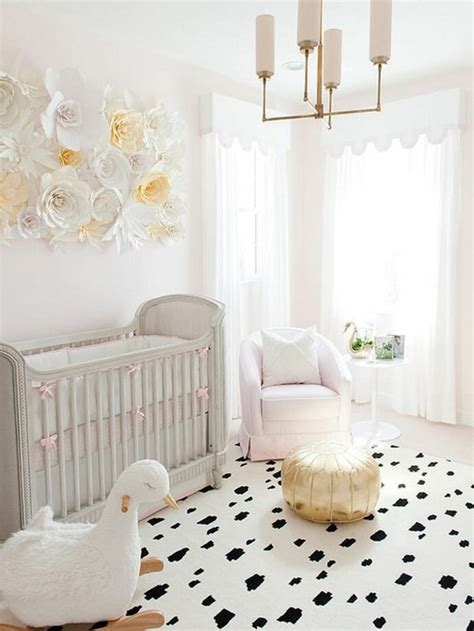 peinture murale chambre la peinture chambre bébé 70 idées sympas