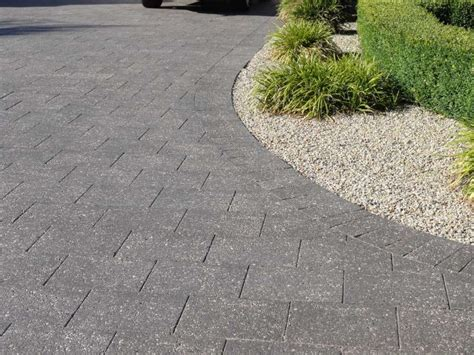 exposed aggregate driveway pavers hobart launceston