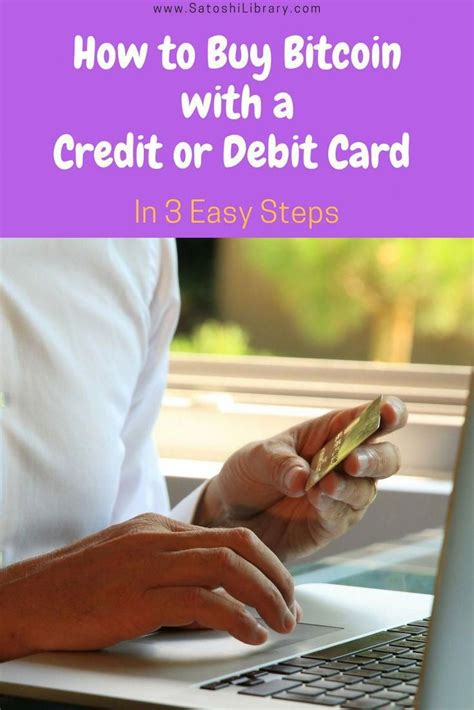 • simple service to buy bitcoins even for a beginner; Buy bitcoin with a credit card or debit card instantly- Learn 2 ways how you can easily purchase ...