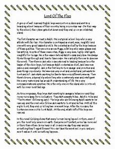 Lord of flies essay summary essay outline lord of the flies essay ...