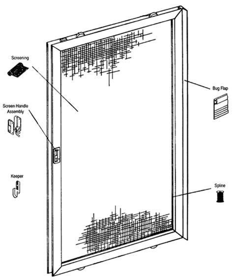 patio screen door parts patio screen door roller az