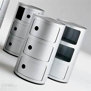 Componibili Modular System 3 Compartmens  Silver