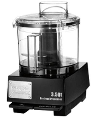 Waring WFP14SW 3.5 Quart Food Processor with S Blade and