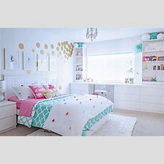 Tween Girl's Bedroom Makeover  Reveal  Tidbits&twine