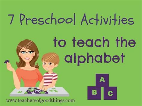 7 preschool activities to teach the alphabet homeschool 529 | e4838134262bc26954d5e4d0ffd0139a preschool alphabet preschool learning