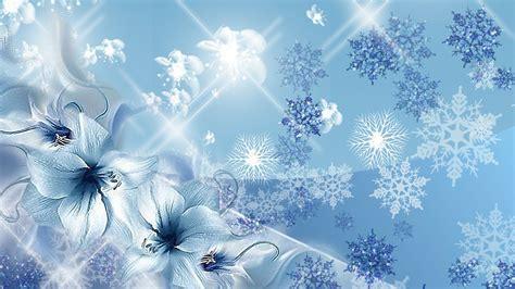Animated Snowflake Wallpaper - blue snowflake wallpapers hd
