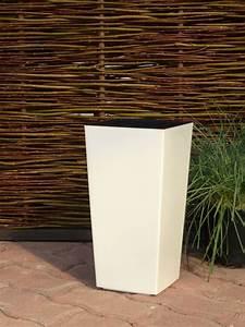 Pflanzkübel Eckig Kunststoff : pflanzk bel hochglanz mit einsatz kunststoff weiss eckig quadratisch blumenk bel ebay ~ Whattoseeinmadrid.com Haus und Dekorationen